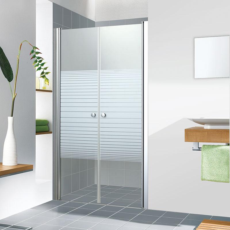 מקלחון חזית 2 דלתות פתיחה