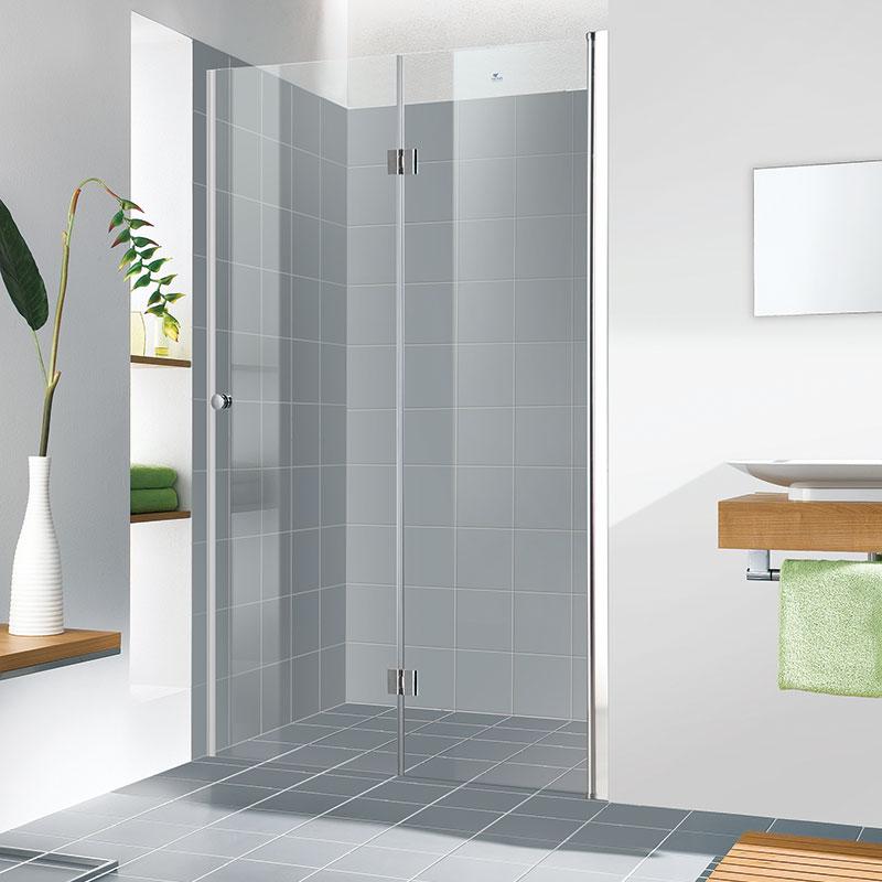 מקלחון חזית ארמוניקה דלת מתקפלת